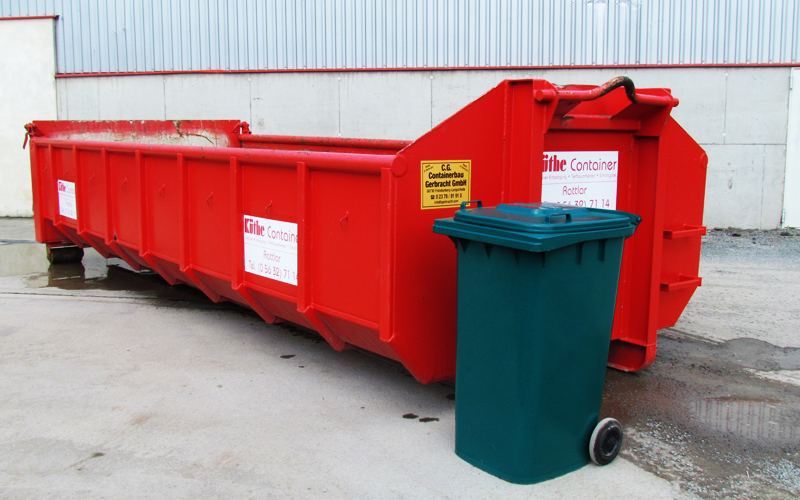 abrollcontainer 10-14m3